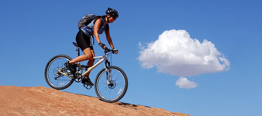 Välja en bra mountainbike