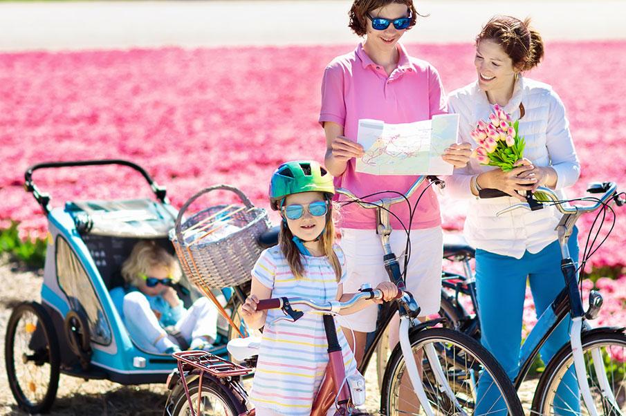 Formbar cykelvagn